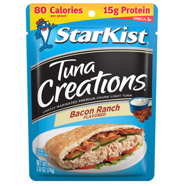 STARKIST TUNA CREATIONS BACON RANCH