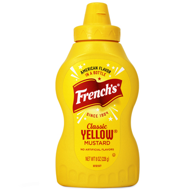FRENCHS YELLOW MUSTARD SQUEEZE