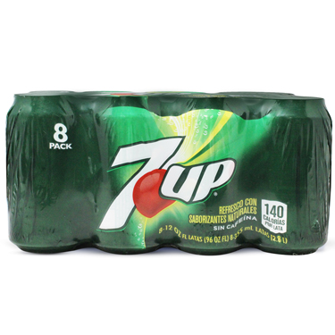 7UP REGULAR 8PK