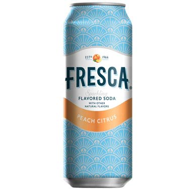 FRESCA PEACH CITRUS SODA CAN