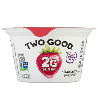 TWO GOOD GREEK STRAWBERRY YOGURT