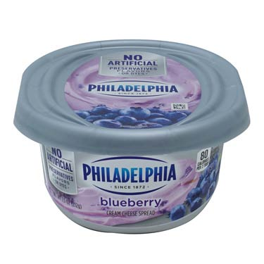 PHILADELPHIA SOFT BLUEBERRY