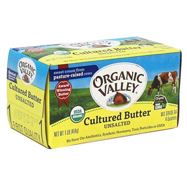 ORGANIC VALLEY BUTTER UNSALTED