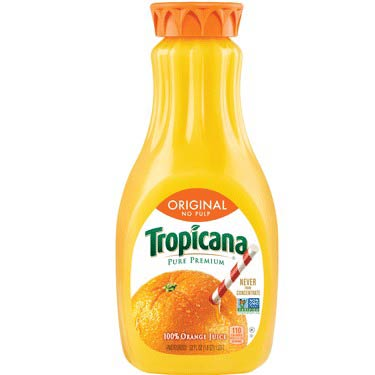TROPICANA ORIGINAL NO PULP