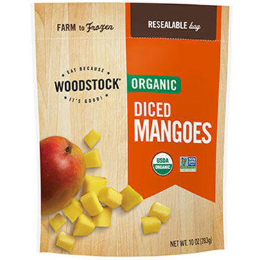 WOODSTOCK ORG DICED MANGOES