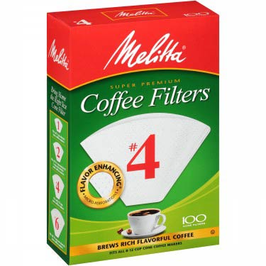 MELITTA WHITE CONE NO.4-100