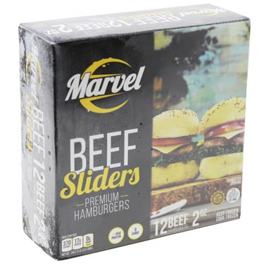 MARVEL BEEF SLIDERS HAMBURGUERS